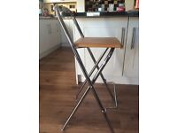 pair of stylish dining/bar stools