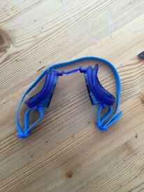 Blue Speedo Goggles. For a child, adjustable. £1.50 Can post or collect from TQY.
