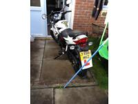 2016 (66) skyjet 125cc motorbike immaculate 80miles from new £1200