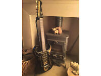 Very Rare Collectors Early 60's Black Burns Bison Guitar, 49 made,15-20 left in the whole world