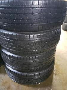 4 general grabber 245/70r17 1 season used only