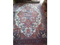 Oriental style rug new 152 x 244