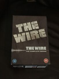 THE WIRE - COMPLETE DVD BOXSET - 5 SEASONS - GREAT CONDITION WATCHED TWICE!