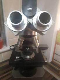 Gillett & silbert antique microscope