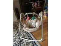 Baby swing - Comfort and Harmony Electric Swing Chair