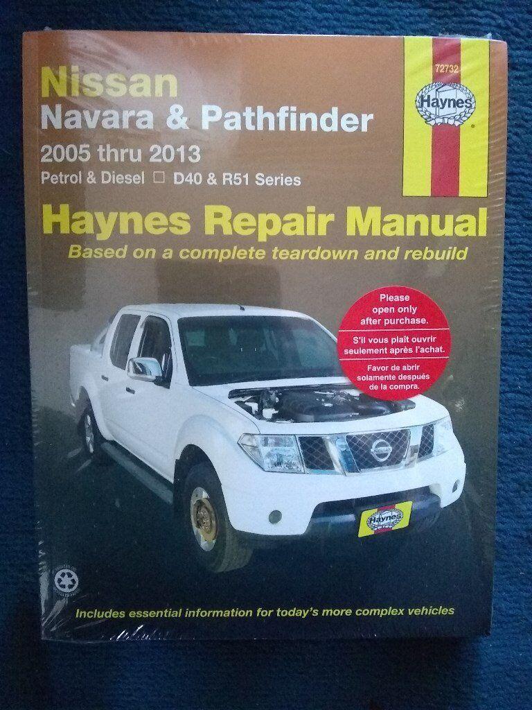 Haynes Nissan Navara Owners Repair manual, new and unopened.