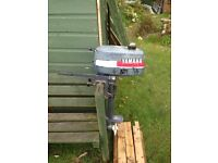 Yamaha 2hp two stroke outboard for spares or repair