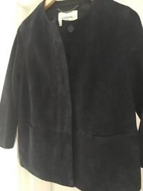 LK Bennett Suzi Suede Jacket size 8 BNWT