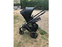 Uppababy vista pushchair, carrycot, buggy