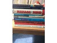 Sociology / psychology books for sale