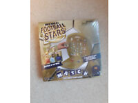 New in Box -Top Trumps World Football Stars Match Crazy Cube Game - Still sealed & Unused