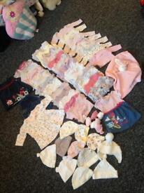 Newborn girls bundle