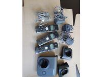 Set of three Panasonic phones for Home phone