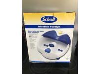 Scholl Infrablue Footspa