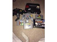 N64 Nintendo 64 console bundld