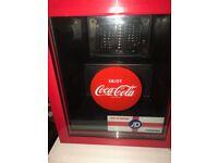 Coca Cola Mini Fridge Used very good condition, working perfectly. £50