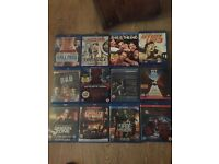 Bundle of blu Ray DVDs