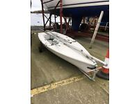 Laser 2 Regatta Dinghy