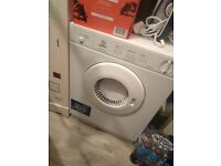 Tumble dryer for sale hardly used vgc