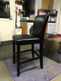 Black stools
