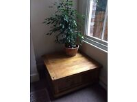 Baku Mango Wood Blanket Box