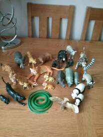 Plastic animals
