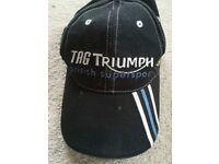 Triumph Black British Supersport Baseball Hat