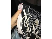Vans like new kids size 12