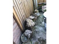 Large rocks/boulders/concrete stones/hardcore for Rockery?