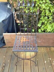 Metalwork Chair