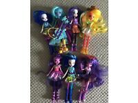 Equestria Girl dolls