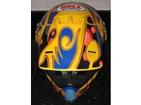 Collectible Vintage JeremyMcGrath Showtime Bell Moto-8 full face helmet