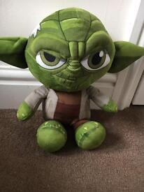 Star Wars Yoda soft toy