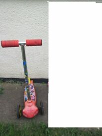 Mickey Mouse scooter