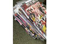 Kerrang music magazine. 69 in wrapper + 15