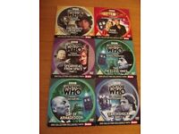 6 x Doctor Who dvds
