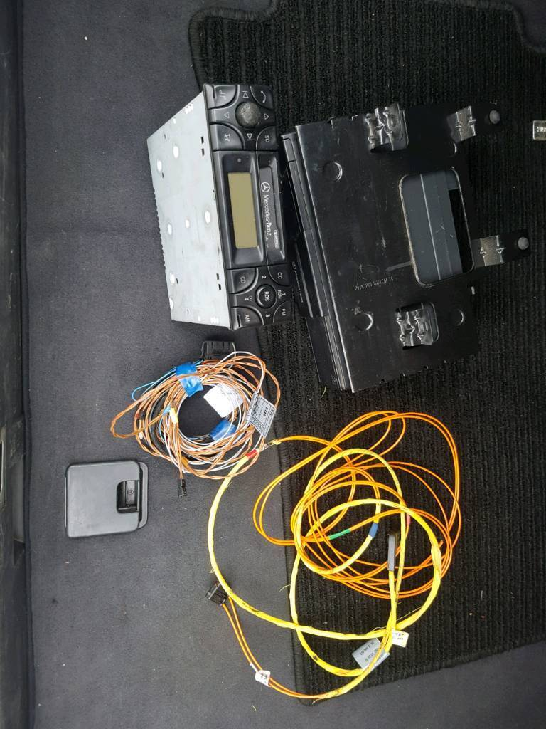 Mercedes W210 E Class W202 C W208 Clk Cassette Player Radio Wiring Connectors Cd Changer And
