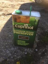 Wood stain Cuprinol