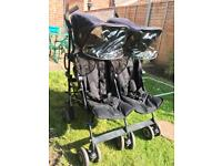 MacLaren double buggy - VGC