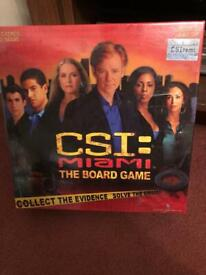 CSI Miami board game