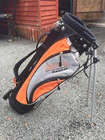 Kids Golf Bag And Trolly