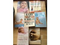 Bundle of baby & toddler books