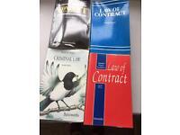Four law books