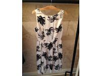 Palm tree dress size 10