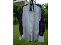 Smart formal / evening / dinner shirt & matching bow tie
