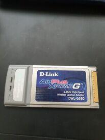 Wireless cardbus adaptor - 2.4Ghz