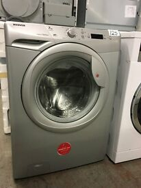 Hoover VTS712D21S-80 7kg 1200rpm Freestanding Washing Machine - Silver