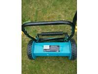 Tesco manual lawn mower/grass cutter