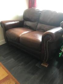 2 Seater sofa / settee Italian Leather