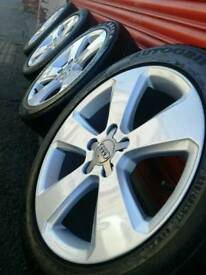 """Audi A3 2014 Genuine 17"""" Alloy Wheels - Newly Refurbished - 5x112 fit A3 A4 A5, T4, Seat"""